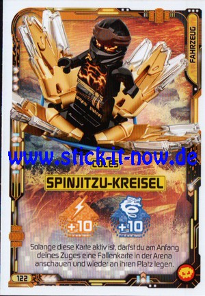 "Lego Ninjago Trading Cards - SERIE 5 ""Next Level"" (2020) - Nr. 122"