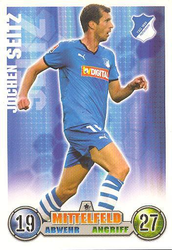 Jochen Seitz - Match Attax 08/09 - TSG Hoffenheim