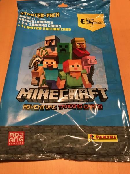 Minecraft Trading Cards (2021) - Starter-Set