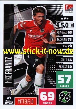"""Topps Match Attax Bundesliga 2020/21 """"Extra"""" - Nr. 554"""