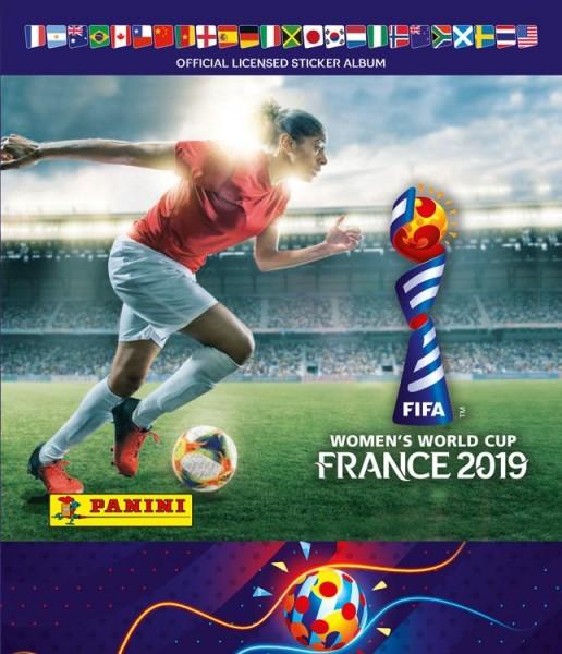 Panini Frauen WM 2019 Frankreich - Stickeralbum
