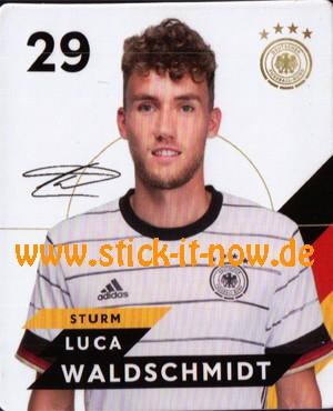 Rewe DFB Sammelkarten EM 2020 - Luca Waldschmidt - Nr. 29