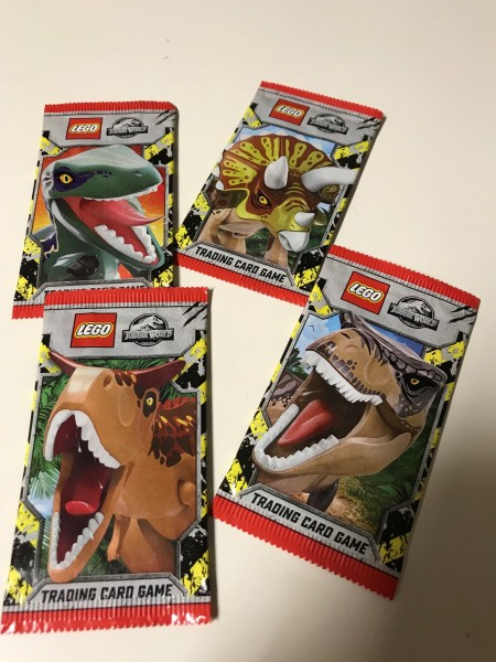 "LEGO ""Jurassic World"" Trading Cards (2021) - Booster (5 Karten)"