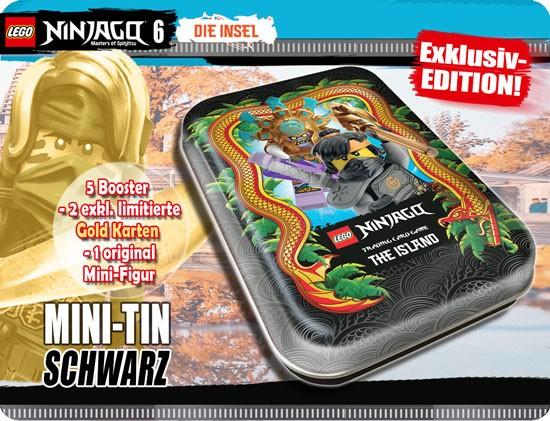 "Lego Ninjago Trading Cards - SERIE 6 (2021) - Mini Tin ""schwarz"" ( LE 17 )"