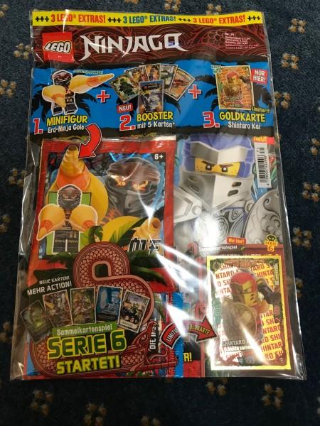 "Lego Ninjago Magazin Nr. 71 (mit Lego Figur, Booster & LE 8 ""Serie 6 )"