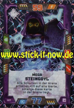 Lego Nexo Knights Trading Cards - Serie 2 (2017) - Nr. 167 (Glitzer)