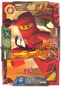 Lego Ninjago Trading Cards (2016) - Nr. 1
