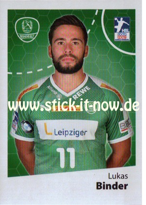 LIQUE MOLY Handball Bundesliga Sticker 19/20 - Nr. 252