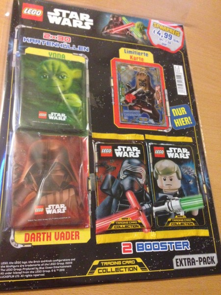 Lego Star Wars Trading Card Collection (2018) - Extra-Pack ( LE5 )