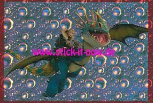 """Dragons 3 """"Die geheime Welt"""" (2019) - Nr. 1 (Glitzer)"""