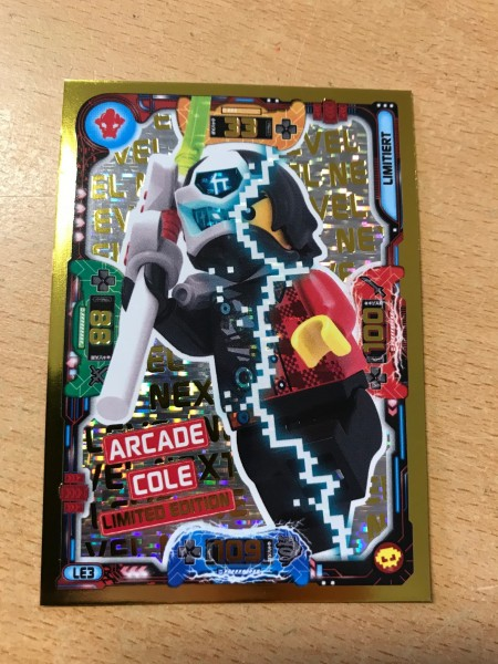 "Lego Ninjago Trading Cards - SERIE 5 ""Next Level"" (2020) - Nr. LE3"