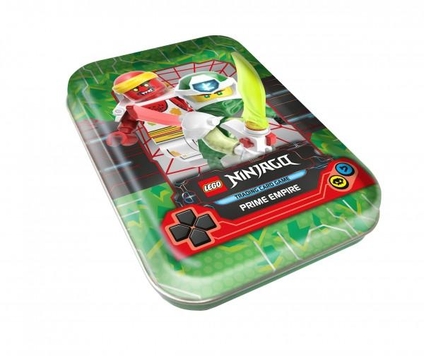 """Lego Ninjago Trading Cards - SERIE 5 (2020) - Mini-Tin Dose """"grün"""""""