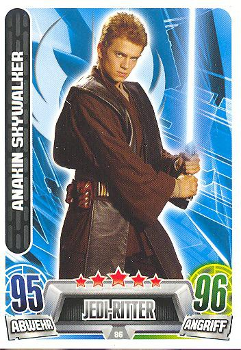 Force Attax Movie Collection - Serie 2 - ANAKIN SKYWALKER - Nr. 86