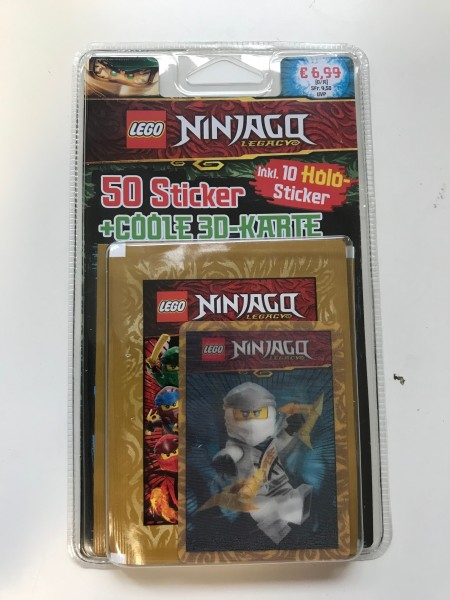 "Lego Ninjago Legacy ""Stickerserie"" (2020) - Blister ( Zane )"