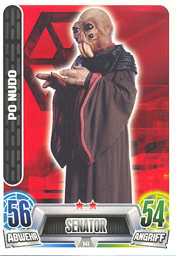 Force Attax Movie Collection - Serie 2 - PO NUDO - Nr. 141