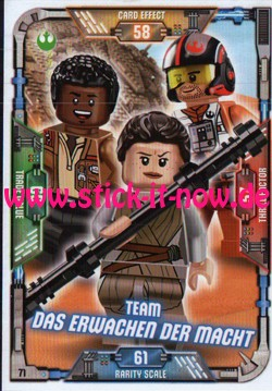 Lego Star Wars Trading Card Collection (2018) - Nr. 71