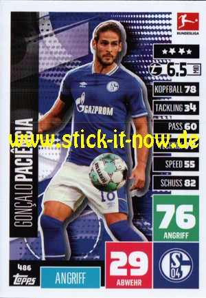 """Topps Match Attax Bundesliga 2020/21 """"Extra"""" - Nr. 486"""