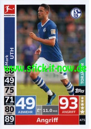 """Topps Match Attax Bundesliga 18/19 """"Action"""" - Nr. 475 (Torjäger)"""