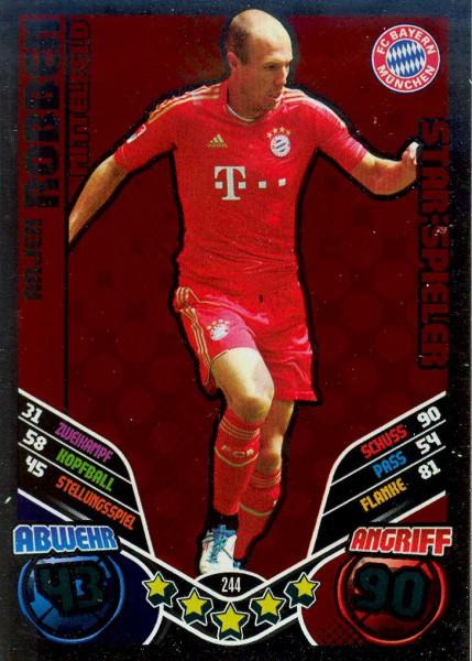 Match Attax 11/12 - Arjen Robben - Star-Spieler