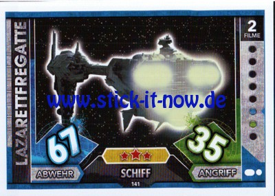 Topps Star Wars FORCE ATTAX UNIVERSE (2017) - Nr. 141