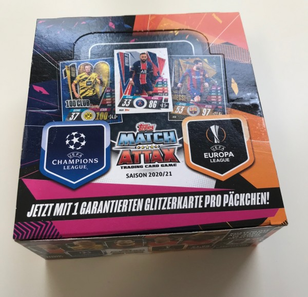 Match Attax Champions League 2020/21 - Display ( 30 Booster )