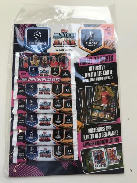 Match Attax Champions League 2020/21 - Multipack