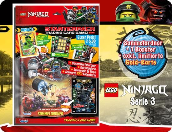 Lego Ninjago Trading Cards - SERIE 3 (2018) - Starter-Set