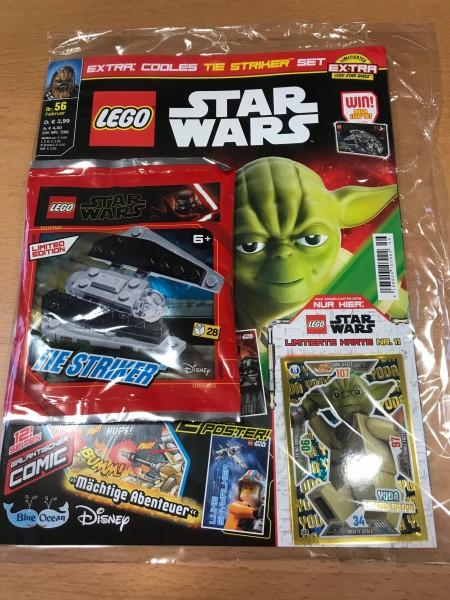 Lego Star Wars Magazin Nr. 56 (mit Lego Set und LE11 )
