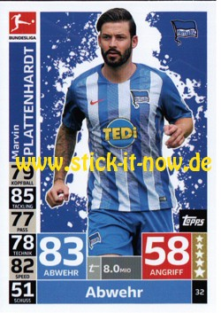 Topps Match Attax Bundesliga 18/19 - Nr. 32