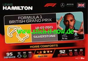 "Turbo Attax ""Formel 1"" (2021) - Nr. HC 7"