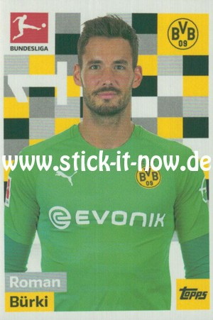 "Topps Fußball Bundesliga 18/19 ""Sticker"" (2019) - Nr. 50"