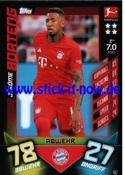 "Topps Match Attax Bundesliga 2019/20 ""Action"" - Nr. 457"