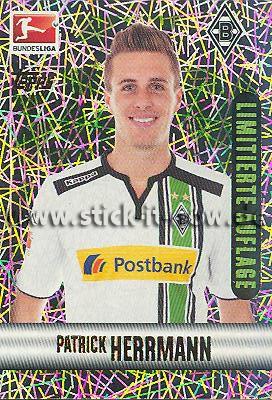 Topps Fußball Bundesliga 15/16 Sticker - Nr. 307 (Limitierte Auflage)