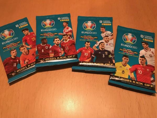UEFA EURO 2020 Adrenalyn XL Kick Off (2021) - Booster ( 8 Karten )