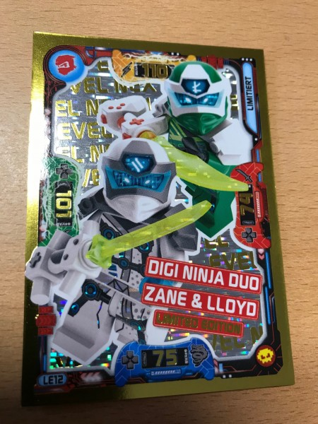 "Lego Ninjago Trading Cards - SERIE 5 ""Next Level"" (2020) - Nr. LE12"