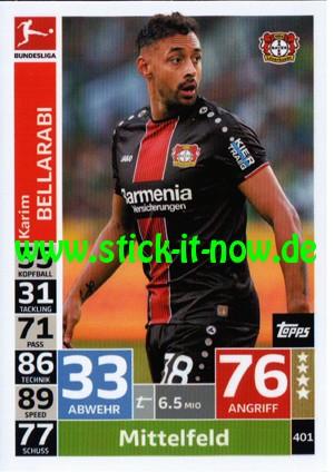 "Topps Match Attax Bundesliga 18/19 ""Action"" - Nr. 401"
