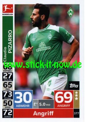 "Topps Match Attax Bundesliga 18/19 ""Action"" - Nr. 377"