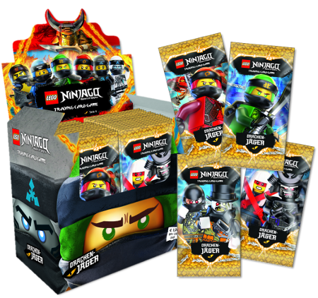 Lego Ninjago Trading Cards - SERIE 4 (2019) - Display ( 50 Booster )