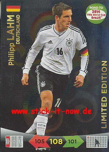 Panini Adrenalyn XL Road to WM 2014 - LAHM - LIMITED EDITION