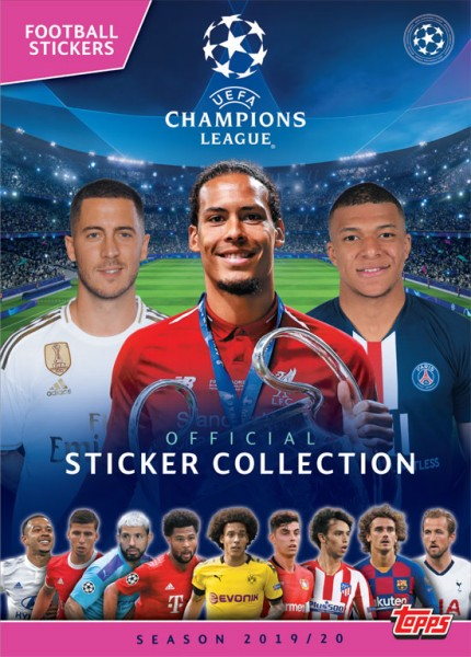 "Champions League 2019/2020 ""Sticker"" - Stickeralbum"