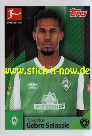 "Topps Fußball Bundesliga 2020/21 ""Sticker"" (2020) - Nr. 91"