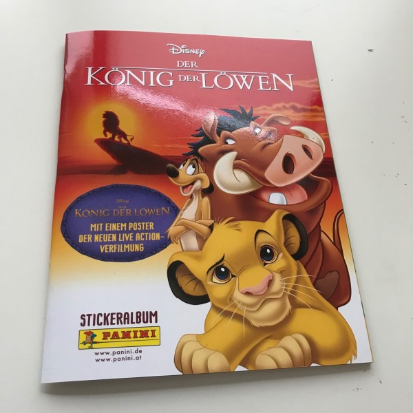 """Disney """"Der König der Löwen"""" (2019) - Stickeralbum"""
