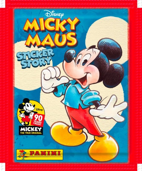 """90 Jahre Micky Maus """"Sticker-Story"""" (2018) - Stickertüte"""