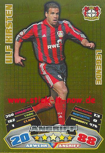 Match Attax 12/13 EXTRA - Ulf Kirsten - Bayer Leverkusen - LEGENDE - Nr. 517