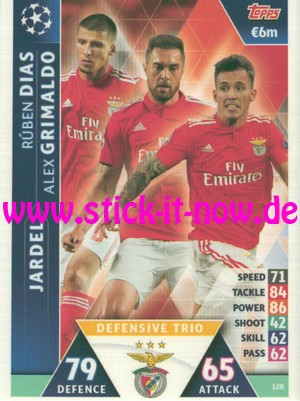 """Match Attax CL 18/19 """"Road to Madrid"""" - Nr. 120"""