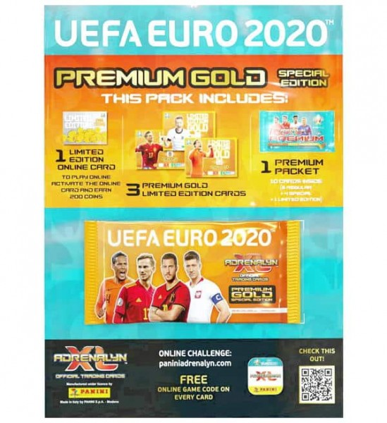 UEFA EURO 2020 Adrenalyn XL - Premium Gold Booster