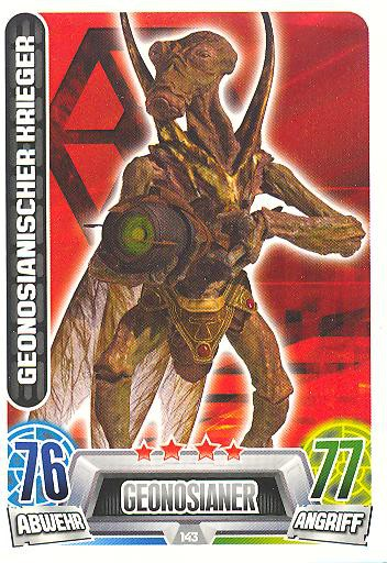 Force Attax Movie Collection - Serie 2 - GEONOSIANISCHER KRIEGER - Nr. 143