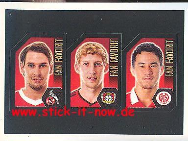 Topps Fußball Bundesliga 14/15 Sticker - Nr. F10 - F11 - F12