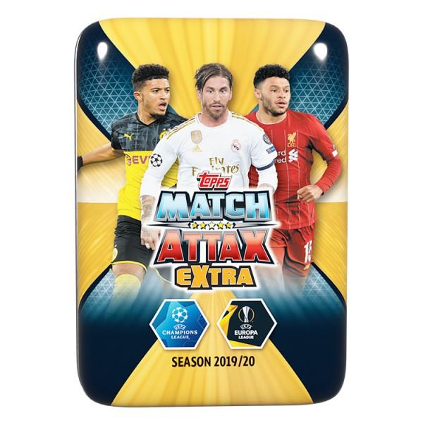 "Match Attax Champions League 2019/20 ""Extra"" - Mini Tin Dose ( A )"