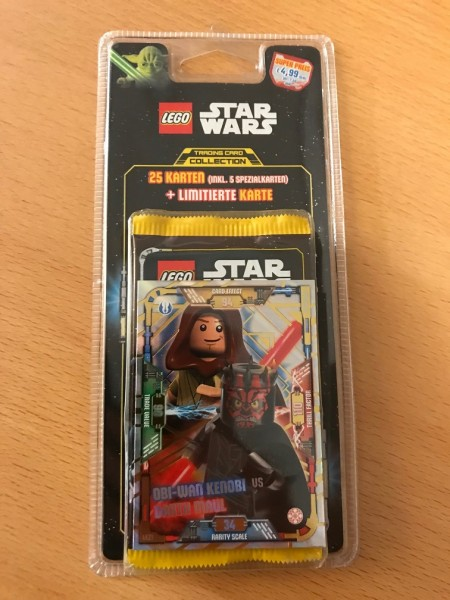 Lego Star Wars Trading Card Collection (2018) - Blister 3 ( LE21 )